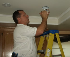 simi valley electrician recessed lighting installation